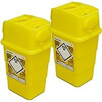 Qualicare Sharps Safe Abwurfbehälter für Spritzen und Kanülen, 1 Liter, 2 Stück preisvergleich bei billige-tabletten.eu