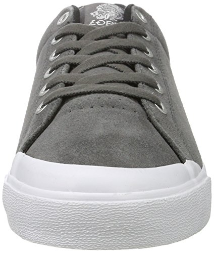 C1RCA Lopez 50r, Baskets Basses Mixte Adulte Gris (Charcoal/White)
