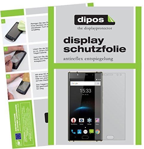 dipos I 6X Schutzfolie matt passend für Oukitel K3 Folie Bildschirmschutzfolie