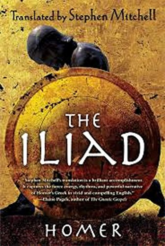 The Iliad by [Homer, Homer]