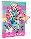 Depesche 6584Notes, Notes to Go Manga Model, Multicolore
