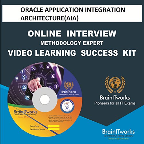 ORACLE APPLICATION INTEGRATION ARCHITECTURE(AIA) Online Interview video learning SUCCESS KIT - Integration Kit