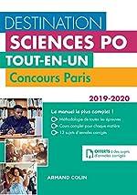 Destination Sciences Po - Concours Paris 2019-2020 - Tout-en-un de Laurent Gayard