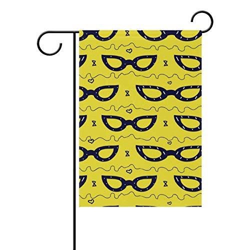 Buyxbn Sonnenbrille, doppelseitig, für den Innen- und Außenbereich, aus Polyester, Polyester, Color-1, 28