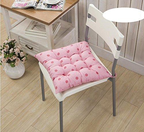 New day®-punto dell'onda cuscino sedia levigatura più spessa cuscino cuscino , pink , 40*40 - Oro Lungo Diamante Set