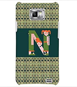 PrintDhaba GRANDbet N D-4146 Back Case Cover for SAMSUNG GALAXY S2 (Multi-Coloured)