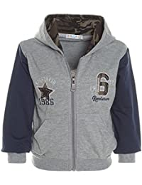 BEZLIT - Chaqueta deportiva - Cuello redondo - Manga Larga - para bebé niño