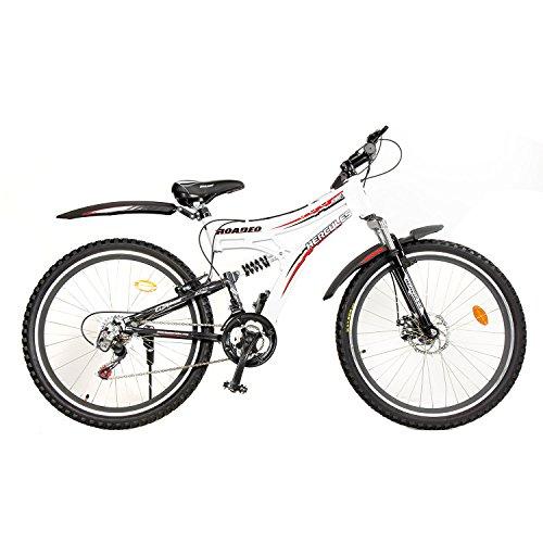 Hercules Roadeo A100 VX 26T 21 Speed Mountain Bike (White/Black)