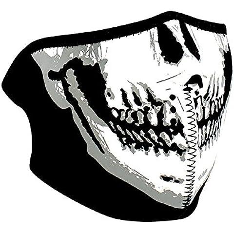 ZANheadgear Máscara de Neopreno para Moto, Quad, Esquí y Snowboard GLOW IN THE DARK WNFM002HG