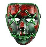 La Purga ELECCIONES Año Iluminación Led Máscara Festival Disfraz Halloween