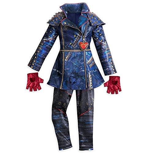 Kostüm Disney Evie - Disney Evie Costume for Kids - Descendants 2 Size 4 Multi