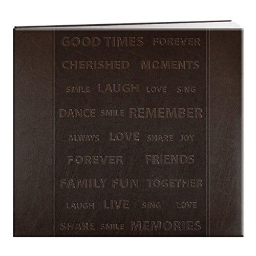 Pioneer Words Cover Design Scrapbook-x 8-inchbrown (Pioneer 8x8 Scrapbook Album)