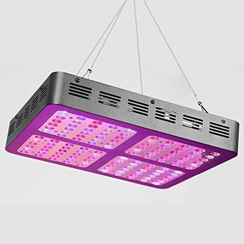 Glighone LED Pflanzenlampe 1200W Optical Lense Series Pflanzenlicht Full Spectrum LED Grow Light mit EU-Stecker für Zimmerpflanzen Blumen Gemüse usw.