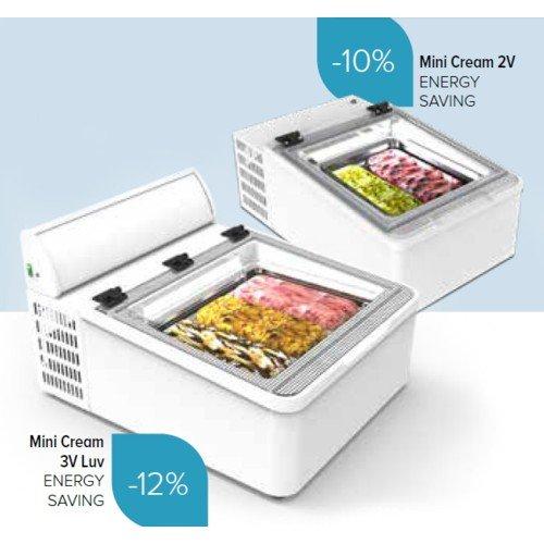 Komunica Design Porta coni gelato in plexiglass trasparente a 4 fori