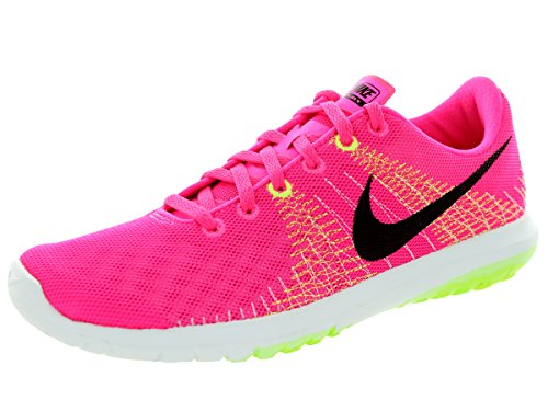 eff76e3f42dc Nike 705299-600 Women S Flex Fury Running Shoe Pink Pow Black Liquid- Price  in India