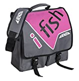 Jenzi Umhängetasche I-Fish Pink, 1x Hauptfach, 2x Vortaschen 1x Tasche Rückseite, mit...