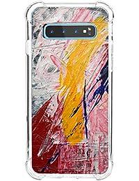 "Funda para Samsung Galaxy S10 Plus, Carcasa Transparente Protectora Reforzado Cojín de Esquina Parachoques Case Flexible TPU Suave Anti-Choque Ultra-Delgado Bumper Cubierta para Galaxy S10 Plus 6.4"""