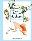 Petites leçons de choses by Jean-Pierre Picandet (2014-03-22)