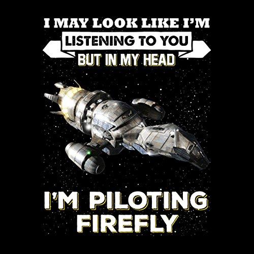 I May Look Like Firefly Serenity Men's Vest Black