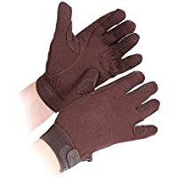 Childs Newbury Riding Gloves - Medium - Brown