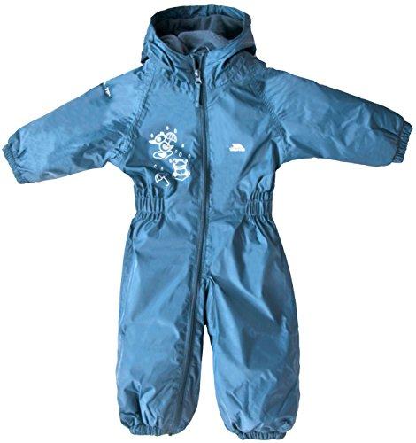 Trespass Dripdrop Baby Unisex Schneeanzug Wasserfest (18/24 Monate) (Kobalt)