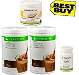 Herbalife Monthly Weight Loss Package: 2 Nos Formula 1 chocolate + Personalized Protein Powder PPP + Afresh Lemon