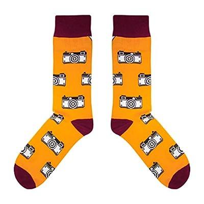 CUP OF SOX Baumwolle Lustige Socken in der Pappbecher - Perfekt als Geschenk für Männer und Fraue - Foto/Kamera/Hipster