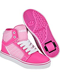 Heelys Uptown Shoes - Hot Pink Light Pink White
