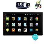 cámara de visión trasera Quad Core Android 5.1 Stereo 2 din coche de 7 pulgadas de pantalla táctil capacitiva de la tableta de entretenimiento - la unidad principal Indash Multimedia w / FM RDS Sintonizador de radio, reproducción de , WiFi, Bluetooth manos libres, navegación GPS
