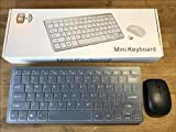 Black Wireless MINI Keyboard & Mouse Set for LG 60PH670V Smart 3D 60' Plasma TV
