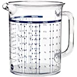 Emsa 2217100000 Superline Pichet mesureur gradué,  1,0l transparent