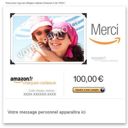 Chèques-cadeaux Amazon.fr - E-mail - Ajoutez une photo, occasion d'occasion  Livré partout en Belgique