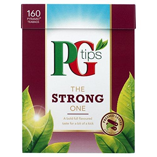 PG Tips The Strong One 160 Btl. 464g - Schwarzer Tee im Pyramidbeutel