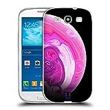 Head Case Designs Pinks Acryl Giessende Planeten Soft Gel Hülle für Samsung Galaxy S3 III I9300