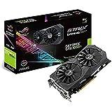 Asus GeForce GTX 1050 Ti-O4G ROG Strix Gaming Grafikkarte (PCIe 3.0, 4GB GDDR5 Speicher, HDMI, DVI, Displayport)