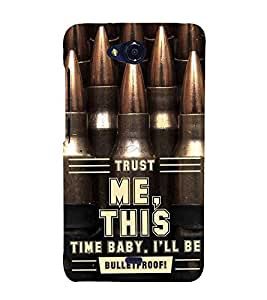 ifasho Designer Back Case Cover for Micromax Canvas Play Q355 (Favour Accept Trust Me This Time)