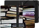 e-Reader Hülle in Buchform - Design Bibliomanie by Tom Bäcker. Für Sony Reader (PRS-T1/T2), Kobo eReader Touch, Kindl