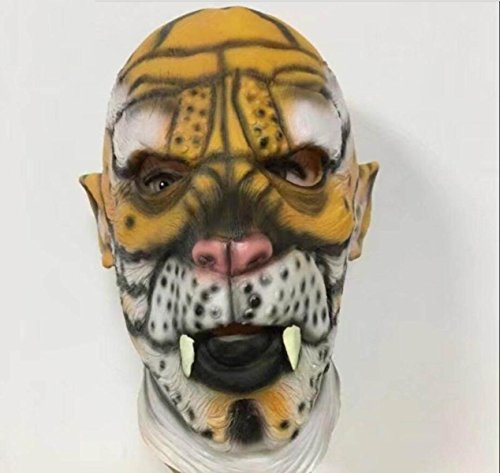 Halloween Terror Löwe Leopard Tiger Maske Haube Makeup Ball Karneval Party Tier Performance Requisiten