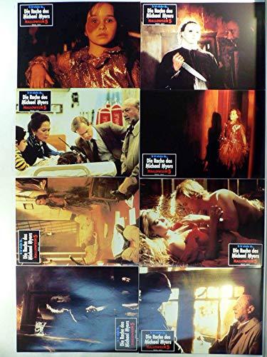Halloween 5 - Die Rache des Michael Myers - 12 Aushangfotos/Lobbycards-G1