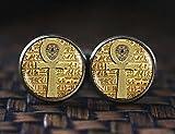 Ägyptische Ankh Kreuz Manschettenknöpfe, ägyptische Manschettenknöpfe, Alten Ägypten Schmuck, Ankh Manschettenknöpfe Manschettenknöpfe, Ägypten, Ägyptischer Schmuck