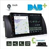 7pulgadas Doble Din En Dash coche GPS estéreo de coche reproductor de DVD para BMW E39E53E38GPS Autoradio 3G Radio BT RDS Bluetooth AM FM Jefe Unidad de navegación con mapa libre de 8GB tarjeta SD