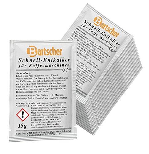 Bartscher Schnell-Entkalker für Kaffeemaschinen 30x 15g - 190065