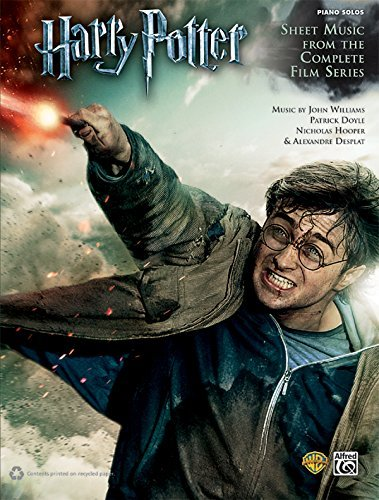 Harry Potter -- Sheet Music from the Complete Film Series: Piano Solos (Harry Potter Sheet Mucic) by Williams, John, Doyle, Patrick, Hooper, Nicholas, Desplat, Alexandre (January 24, 2012) Sheet music