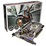 Axle nVidia GeForce 5500 Carte graphique PCI, GDDR 256 Mo, DVI / VGA, 1 GPU