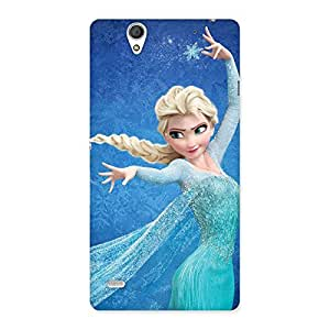 Cute Freezing Princess Multicolor Back Case Cover for Sony Xperia C4