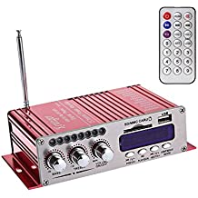 WINGONEER 12V Hi-Fi stereo amplificatore audio digitale USB SD DVD