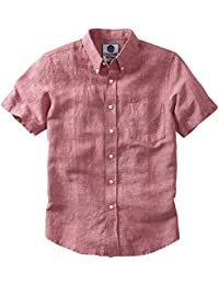 Amazon.co.uk: Pink - Shirts / Men: Clothing