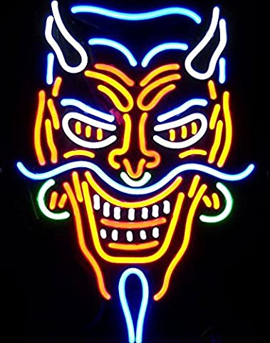 Cozyle Tattoo Devil Neon Sign 20
