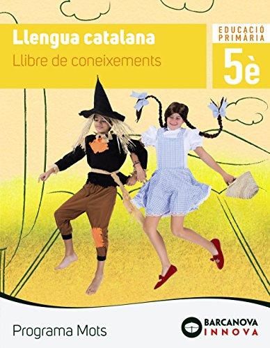 Mots 5. Llengua catalana. Coneixements (Innova)