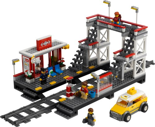 Lego 7937 - Jeux de construction city - La gare